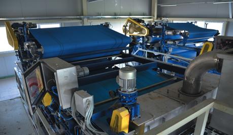 Рис. 5 - Оборудование для механического обезвоживания -Фильтр-Пресс ЭФП-Л